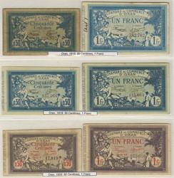 110.550.40: Banknoten - Afrika - Algerien