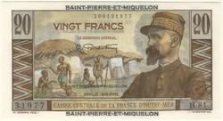 110.560.255: Banknotes – America - St. Pierre & Miquelon