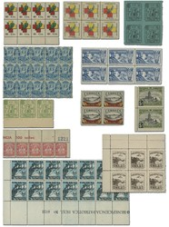 7252: Collections and Lots Spain Local Issues - Stamps bulk lot