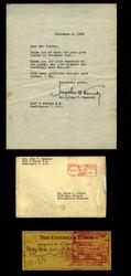 5775: Soviet Union - Autographs