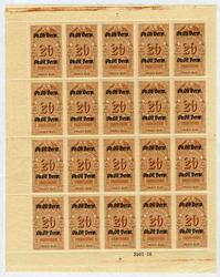 7090: Collections and Lots Baltic States - Revenue stamps