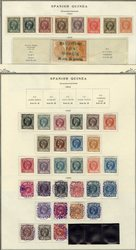 7260: Collections and Lots Spain Colonies - Stamps bulk lot