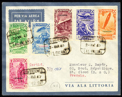 7260: Collections and Lots Spain Colonies - Airmail stamps