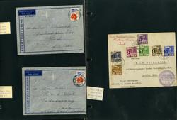 7190: Sammlungen und Posten Niedl. Kolonien - Briefe Posten