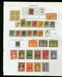 7260: Sammlungen und Posten Spanische Kolonien - Engros