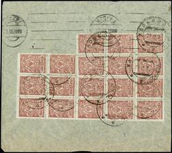 7228: Sammlungen und Posten Russland Lokalausgaben - Sammlungen