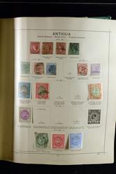 7365: Sammlungen und Posten Amerika - Zusammendrucke