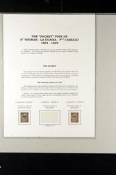 6646: Venezuela Schiffspost Todd, Cameron - Sammlungen