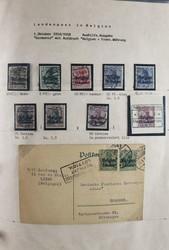 7017: Sammlungen und Posten Besetzung I. WK - Ganzsachen