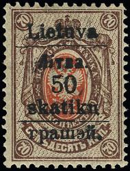 4195: Litauen Lokalausgaben Südlitauen (Grodno)