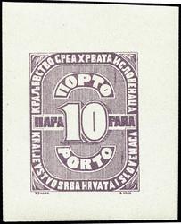 3775: Jugoslawien - Portomarken