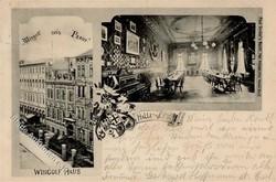 114000: Deutschland Ost, Plz Gebiet O-40, 400-409 Halle Ort - Postkarten