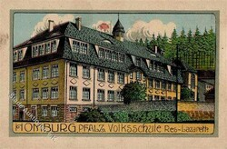 106650: Deutschland West, Plz Gebiet W-66, 665 Homburg- Saar