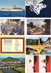 7940: Sammlungen und Posten Ansichtskarten Motive - Postkarten