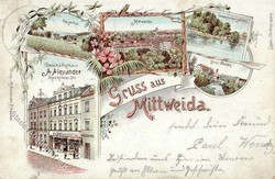 119250: Germany East, Zip Code O-92, 925-926 Mittweida