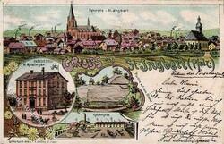 106670: Deutschland West, Plz Gebiet W-66, 667 St.Ingbert