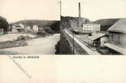 119290: Germany East, Zip Code O-92, 929 Rochlitz - Picture postcards