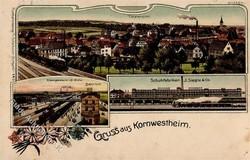 107000: Deutschland West, Plz Gebiet W-70, 700-702 Stuttgart