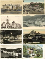 7910: Sammlungen und Posten Ansichtskarten Europa - Postkarten