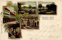 190010: Schweiz, Kanton Aargau - Postkarten