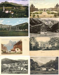 4745: Austria - Picture postcards