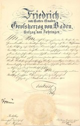 243404: History, German Aristocracy, Baden