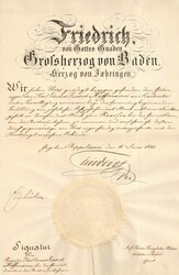 243404: Geschichte, Deutscher Adel, Baden