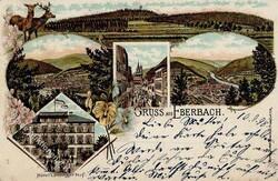 106930: Deutschland West, Plz Gebiet W-69, 693 Eberbach- Baden