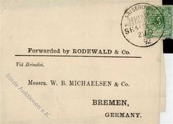150: Deutsche Auslandspost China - Besonderheiten