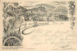 991020: Topograhie, Picture Postcard-forerunners, With Date