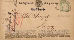 15: Altdeutschland Bayern - Ganzsachen