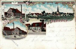 102810: Deutschland West, Plz Gebiet W-28, 281 Verden- Aller