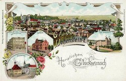 119270: Germany East, Zip Code O-92, 927 Hohenstein-Ernstthal - Picture postcards