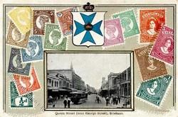 1750: Australien - Postkarten