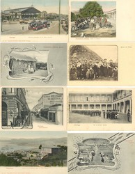 7920: Sammlungen und Posten Ansichtskarten Übersee - Postkarten