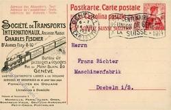 5655: Schweiz - Privatganzsachen