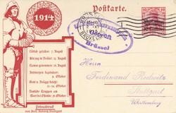 360: Deutsche Besetzung I. WK Belgien - Privatganzsachen