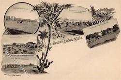 185: Deutsche Kolonien Südwestafrika - Privatganzsachen