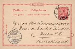 150: Deutsche Auslandspost China - Ganzsachen