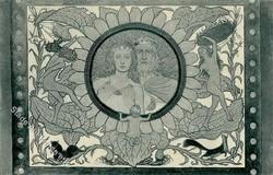 201020: Ansichtskarten, AK-Künstler, Fidus