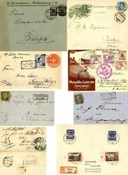 7131: Sammlungen und Posten Franz. Kolonien Amerika - Briefe Posten