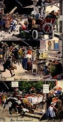 201010: Ansichtskarten, AK-Künstler, A. Thiele (allgemein)