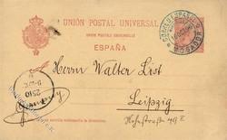 5970: Spanische Post in Marokko - Ganzsachen