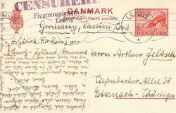 2355: Dänemark - Ganzsachen