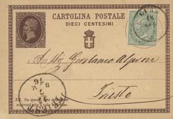 3415: Italien - Ganzsachen