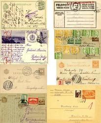 6535: Ungarn - Ganzsachen