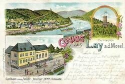 105400: Deutschland West, Plz Gebiet W-54, 540 Koblenz
