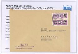 1390: DDR Verwaltungspost C Laufkontrollzettel ZKD - Besonderheiten