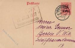 420: Deutsche Besetzung I. WK Rumänien - Ganzsachen