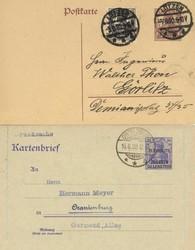 300: Allenstein - Ganzsachen